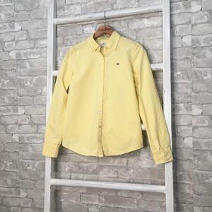 Vineyard Vines Yellow Button Down Shirt Size 4